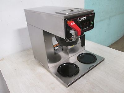 """BUNN CWT 15"" COMMERCIAL HD ""POUR-OVER/AUTOMATIC"" (NSF) COFFEE BREWER w/3 WARMER"