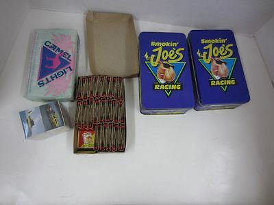 Vintage Camel Cigarettes MATCHES Smokin' Joes Racing w/Tins Camel Lights