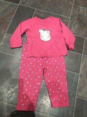 Girls Pyjamas Age 12-18 Months