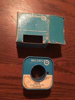 Belden 8056 Magnet Wire Hook-up Wire 32AWG SGL 1/2 Pound Spool