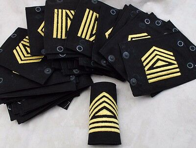 Lot Of 50 Vintage Us Army Military Rank Shoulder Boards