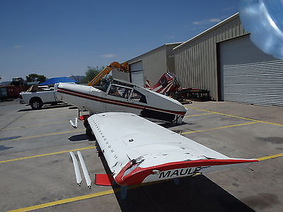 1995 Maule MX7-180A Aircraft for Parts Maybe Rebuild Cleveland Wheels Dirt Tires