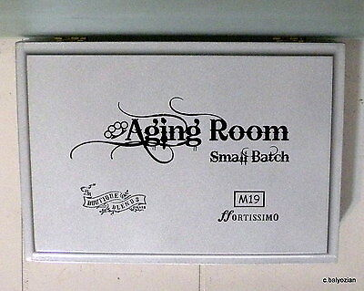 "#0086/2000<>""Aging Room Small Batch M19"" Wooden Cigar Box"