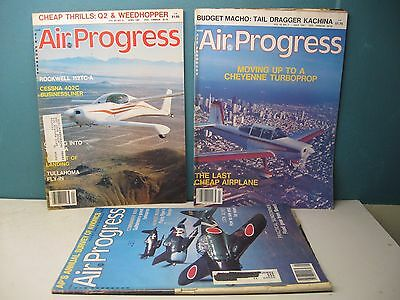 Air Progress Magazines 1981 Lot Of 3 Issues