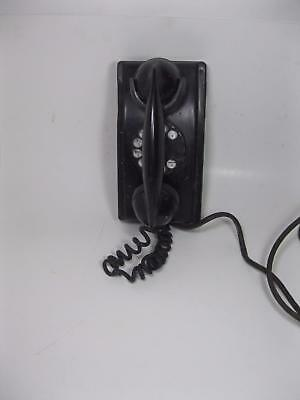 Vtg 1940's Western Electric Bell System Rotary Dial Wall Mount Telephone F-1