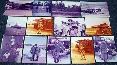 LOT OF ORIGINAL VINTAGE 1970's PHOTOS: 32nd ARMY AIR DEFENSE COMMAND, GERMANY