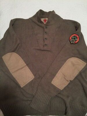 Rarest Boy Scouts Of Nippon By Ralph Lauren Sweater Commando Military Patch L