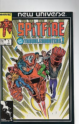 Spitfire and the Trobleshooters #1 & #2 1986 Marvel