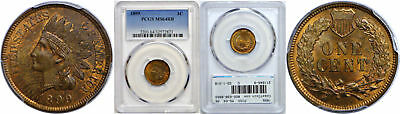1899 Indian Head Cent PCGS MS-64 RB