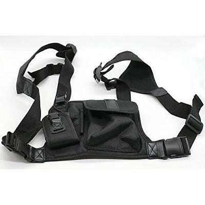 Wishring Universal Hands Free Chest Pack Bag Harness for Motorola Kenwood