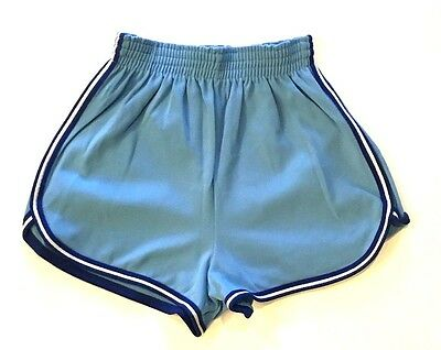Vtg 70's High Waist Knit Skimpy Athletic Short Shorts Medium Fits Smaller