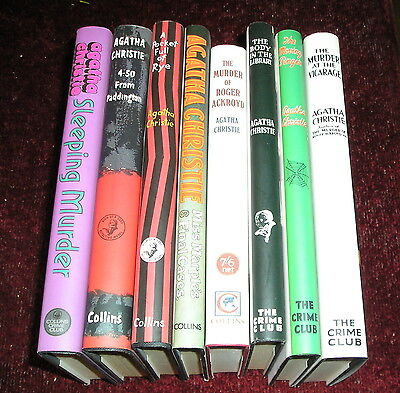 Agatha Christie Collection X 8