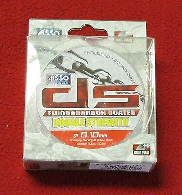 asso double strength mixte fluorocarbon 300 m-0.14mm-3 kgs