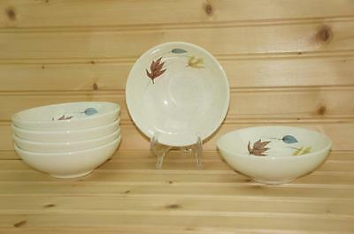Franciscan AUTUMN (6) Fruit / Dessert Bowls | Earthenware | Discontinued USA