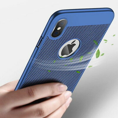 Full Protective Breathing Anti-Hot Original Hard Case Cover For iPhone XS MAX XR