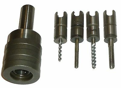 """Spv Cgs-8 Tension Compression Tap Chuck W/ T-8 Adapters 5/8"""" Straight Shank"""