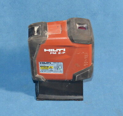 Hilti PM 2-P Laser Level 6V w/ Case