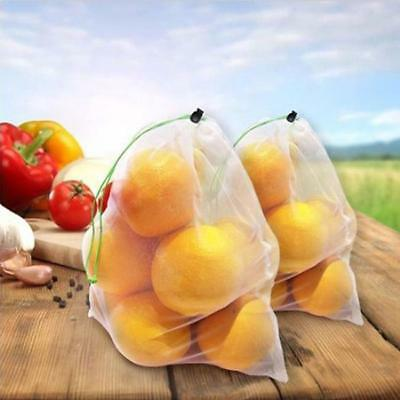 Reusable Produce Bags Mesh Set of 12 Fruits Vegetables Grocery New LA