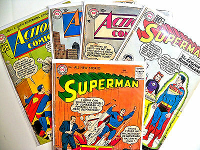 DC Silver Age Comic Book Lot of 19 low grade books OPG $237