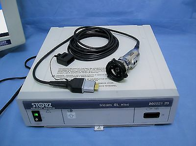 Karl Storz 20222120 Tricam SL Camera System with Autoclavable Head, NTSC
