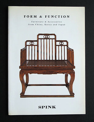 Form and Function : Furniture and Accessories from China Korea Japan CATALOGUE