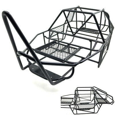 Full Steel Frame Body Roll Cage For 110 Rc Rock Crawler Axial Scx10
