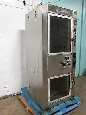 """NU-VU UB-10""ELECTRIC120/208V 3PhCOOK/BAKE/STEAM CIRCULATION AIR OVEN ON CASTERS"