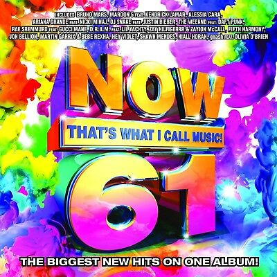Now That's What I Call Music! 61 by Various Artists (CD, Jan-2017, Legacy) NEW