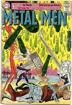 Metal Men # 1 Beautiful Cover art Silver Age Comic Book 1st issue Rare..........