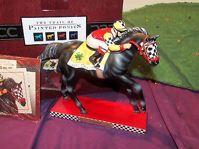 2015 Trail of Painted Ponies GODSPEED Thoroughbred Race Horses  #4046347 NIB!