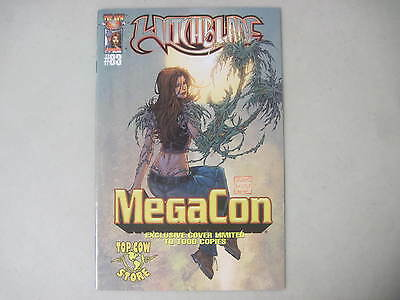 WITCHBLADE #83 MegaCON EXCLUSIVE VARIANT LIMITED EDITION COVER TOP COW IMAGE