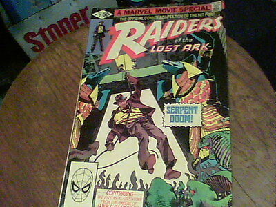Raiders of the Lost Ark Oct # 2 1981 A Marvel Movie Special