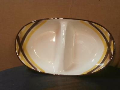 Vernonware Organdie Divided Bowl