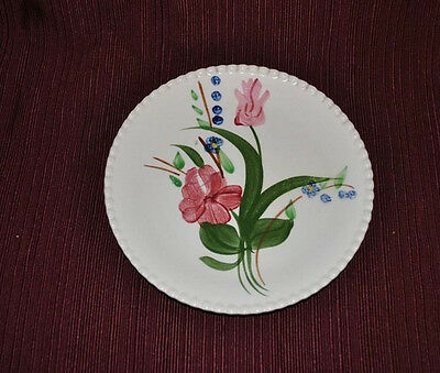 """Blue Ridge Southern Pottery - BLUEBELL BOUQUET - 7"""" PLATE"""