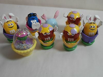 M&M's in Easter Eggs & Baskets Toppers? Lot of 7