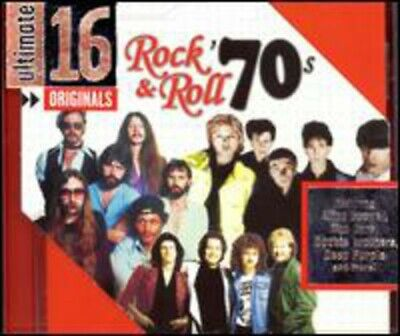 Various Artists : Ultimate 16: Rock N Roll of the 70s CD