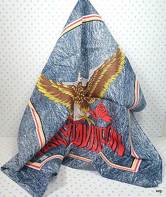 New HARLEY DAVIDSON Bandana Do Rag * EAGLE * Made in the USA * Denim Look