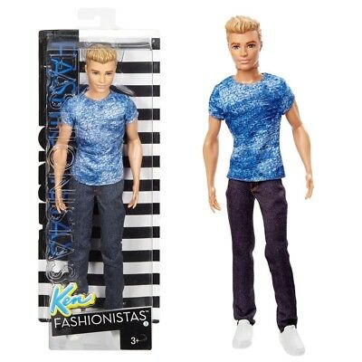 Barbie - Ken Puppe Fashionistas 1 - Dashing Denim