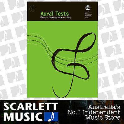 AMEB Aural Tests Graded Exercises Book Included 6/CD **BRAND NEW**