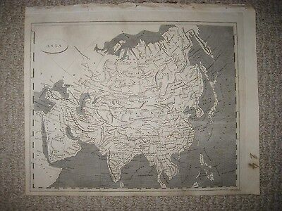 Antique 1804 Asia Arrowsmith & Lewis Copperplate Map Arabia China Japan India Nr