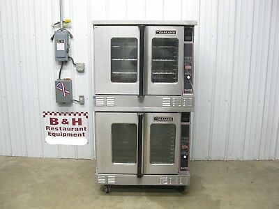 Garland Master 450 Cook & Hold Double Stack Deck 208 V Convection Oven MCO-ES-10