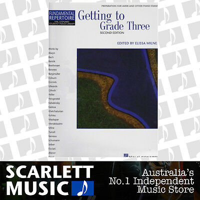 Getting to Grade Three ( 3 / Third ) Piano Book HLSPL 2nd Edition *BOOK ONLY*
