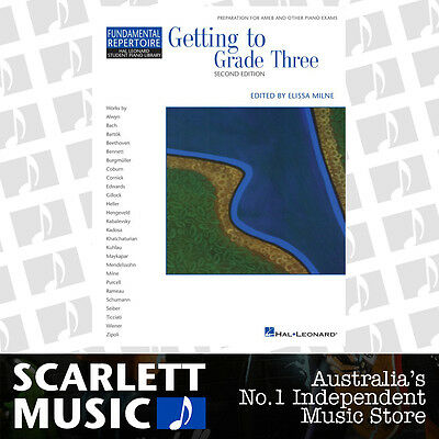 Getting to Grade Three ( 3 / Third ) Piano Book HLSPL 2nd Edition *WITH CD*
