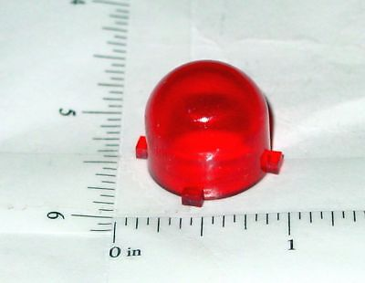 Structo Red Plastic 4 Tab Roof Flasher Toy Part