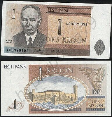 Estonia P 69 - 1 Kroon 1992 - UNC