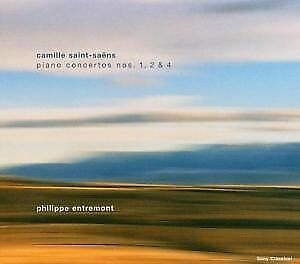 entremont/plasson/+-music for you:piano ctos.1,2,4, Saint-Saens,Camille(CD NEU!)