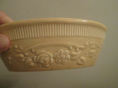 4 Taylor Smith Taylor YELLOW Oven Serve Oval Individual Casserole Bake Dish