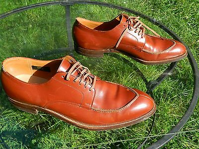 Stacy-Adams Derby Dress Shoes / Brown Leather Uppers / US Men: 12 / Made in USA