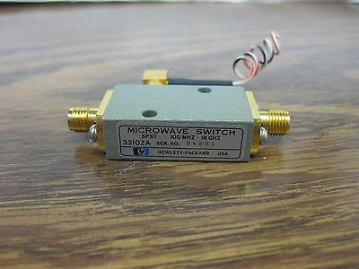 HP 33102A 100 MHz- 18 GHz RF Microwave Switch