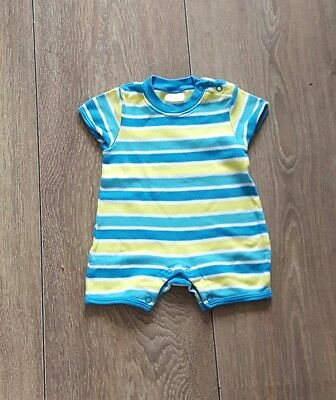 Baby Boys Playsuit Age 0-3 Months